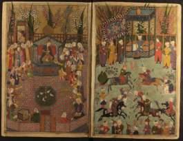 Manuscript of Nur al Din Jamis Tuhfat al Ahrar Persian 1484 Image 2 Yah Ms Ar 1013 Courtesy The National Library of Israel Jerusalem